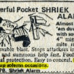 Shriek-alarm